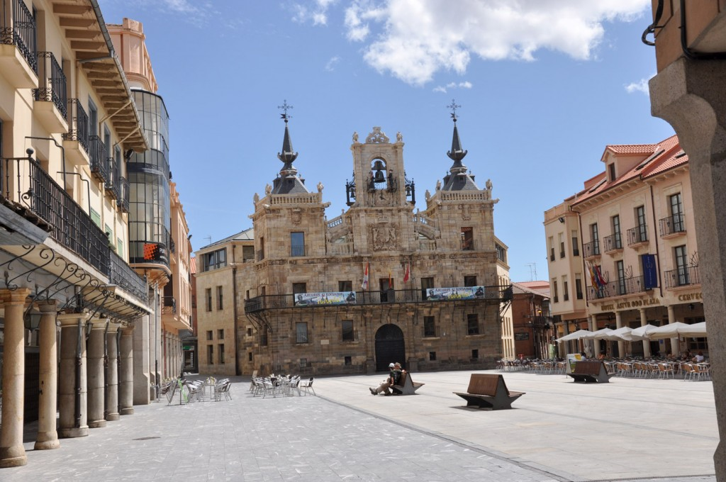 Astorga-plaza-mayor